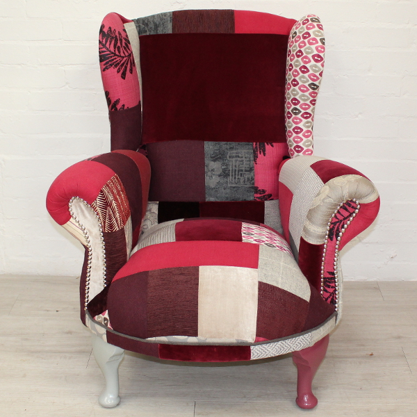 BowFrontedAntiqueUpcycledPatchworkWingBackArmchair1st600x600