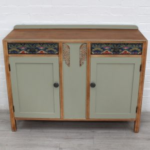 Olive Green painted sideboard